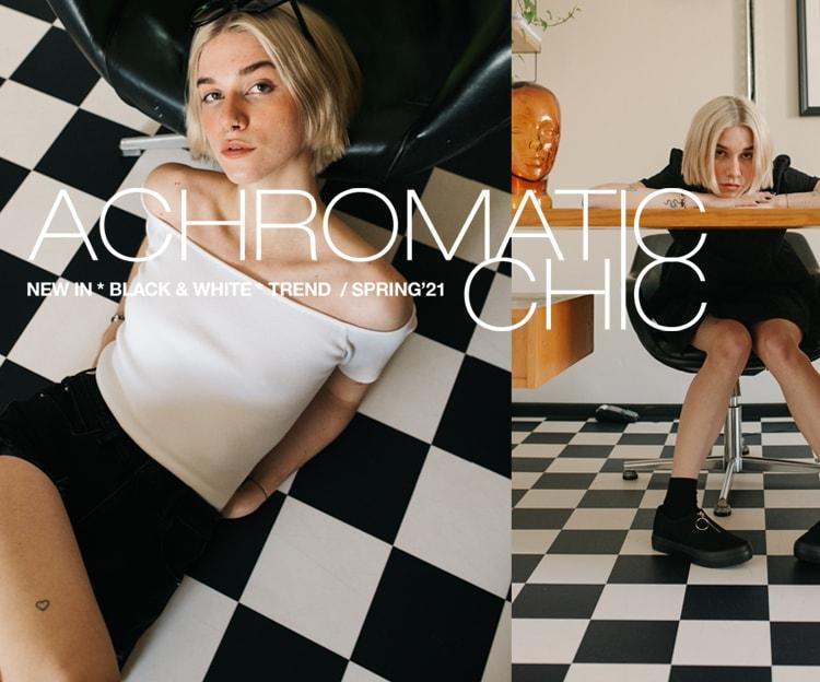 Achromatic Chic Cropp