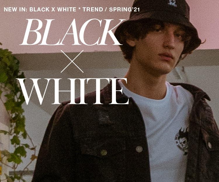 Black x White Cropp