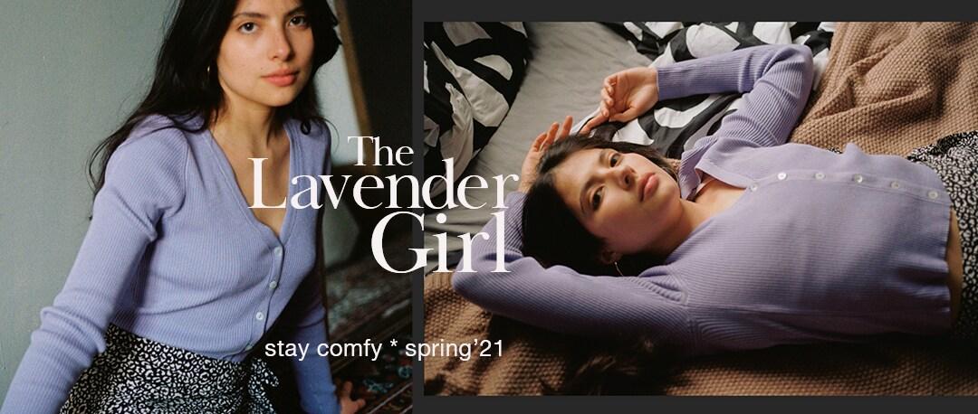 The Lavender Girl Cropp