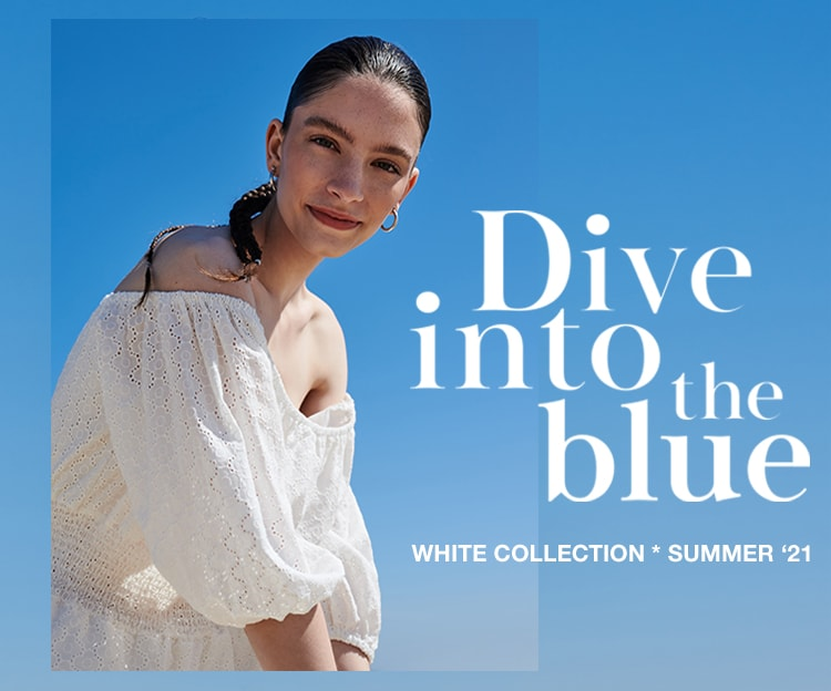 Dive into the blue Cropp