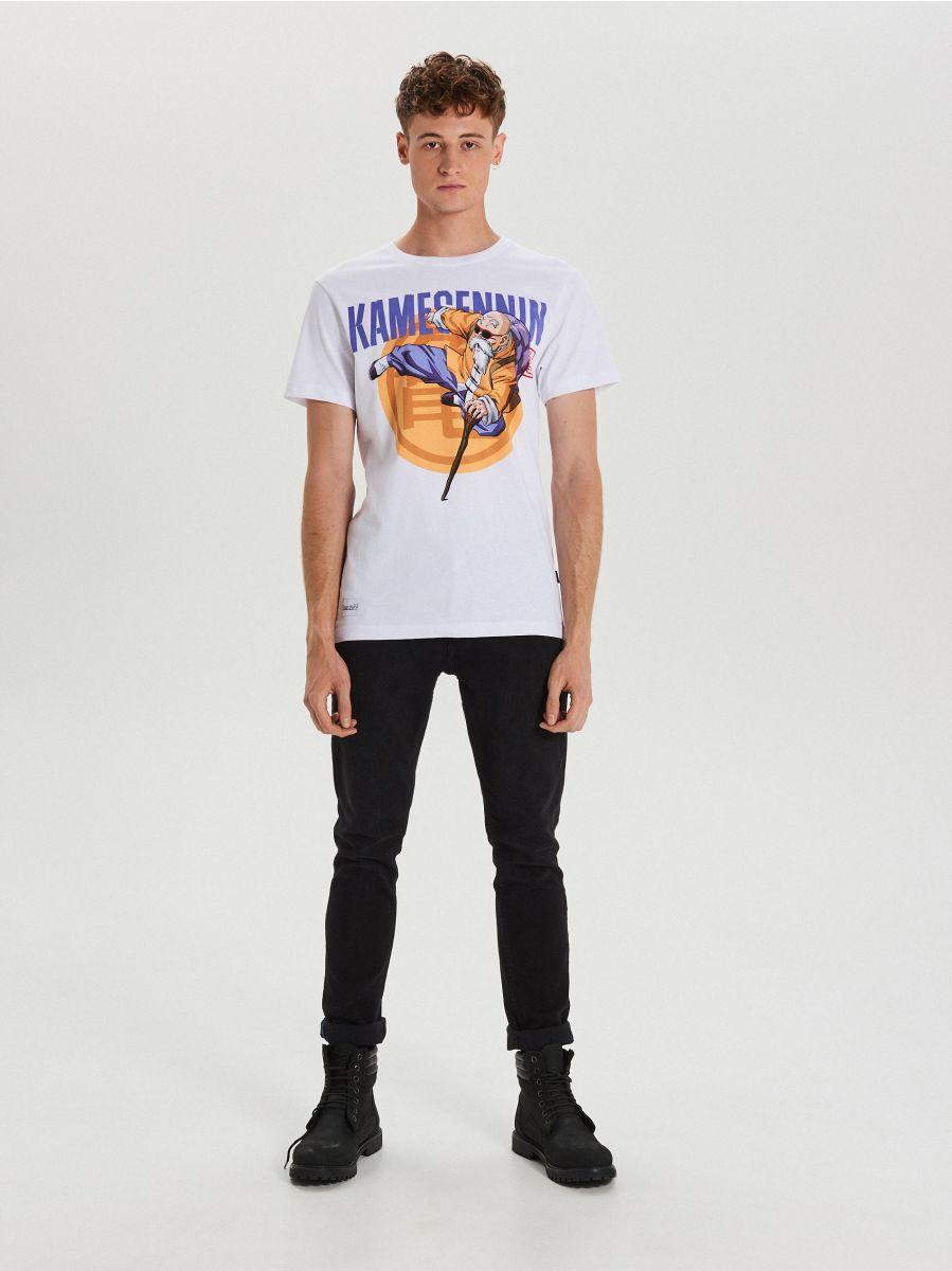 T-krekls ar apdruku Dragon Ball - BALTS - XH451-00X - Cropp - 2