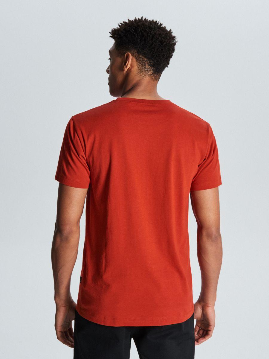 T-krekls ar bruņurupuča apdruku - SARKANS - WM731-33X - Cropp - 4