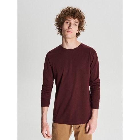 T-krekls ar garām piedurknēm basic