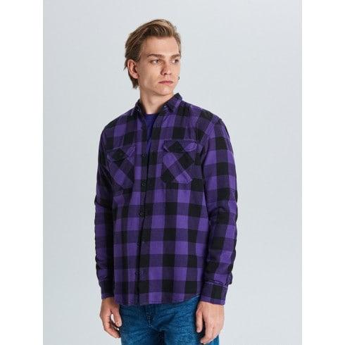 Rūtains krekls