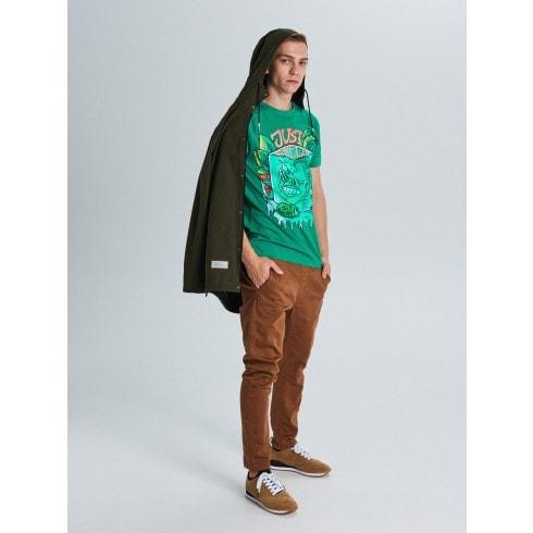T-krekls ar apdruku Just Chilling
