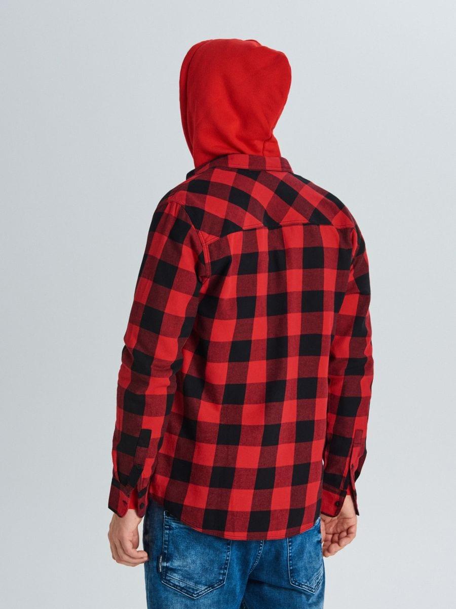 Languoti marškiniai - RAUDONA - WE365-33X - Cropp - 4