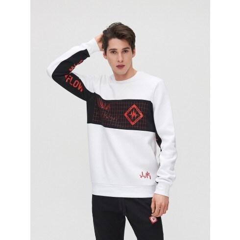 Džemperis su spaudiniu