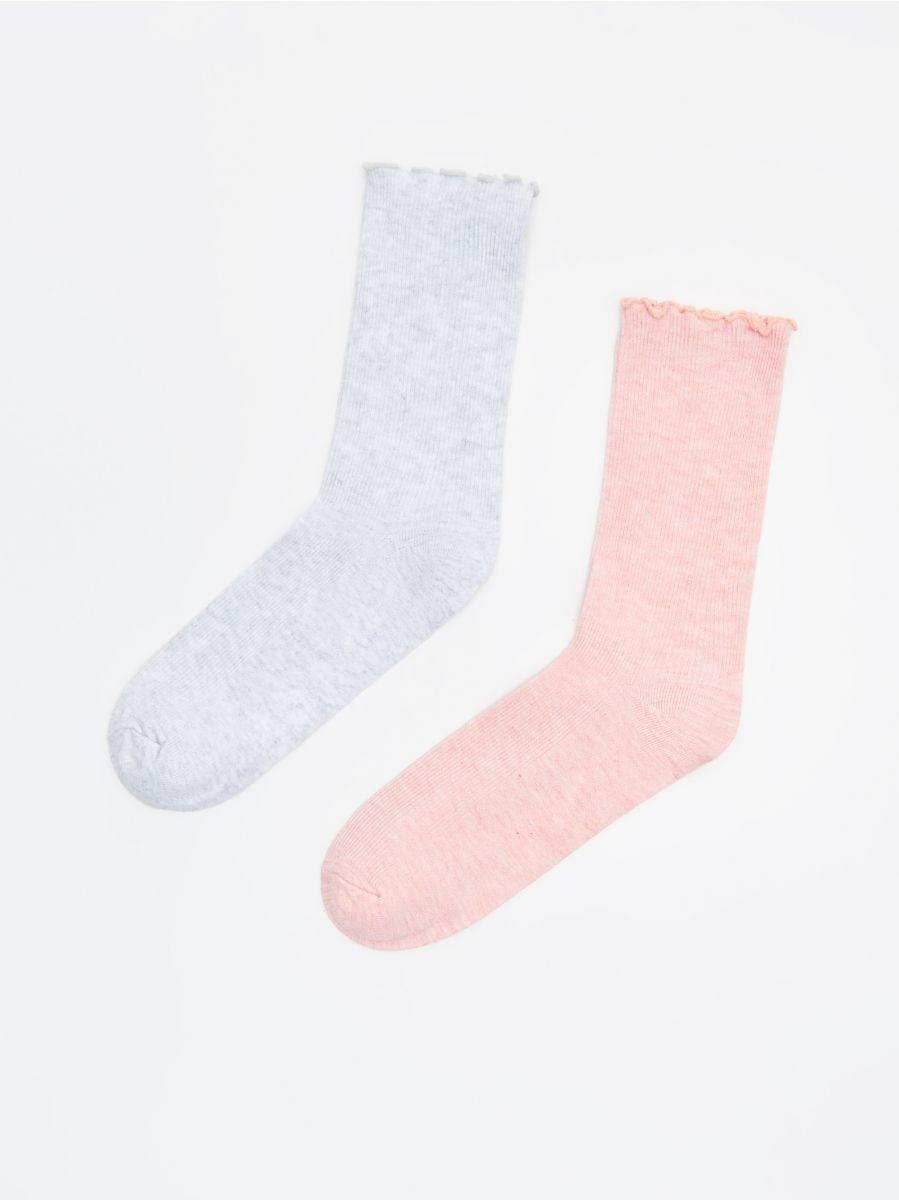 2 paari sokke - HELEHALL - WX971-09M - Cropp - 1