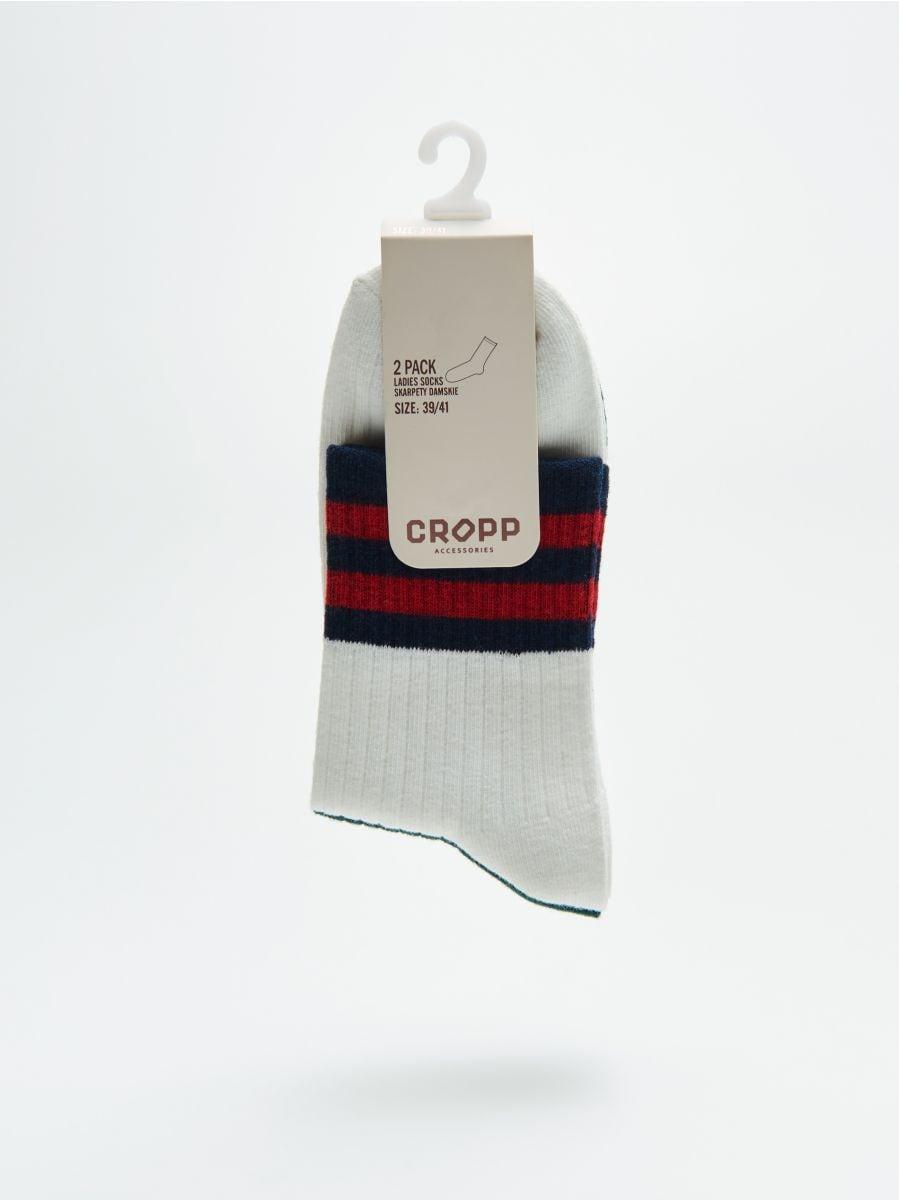 2 paari sokke - KOORENE - WX976-01X - Cropp - 2