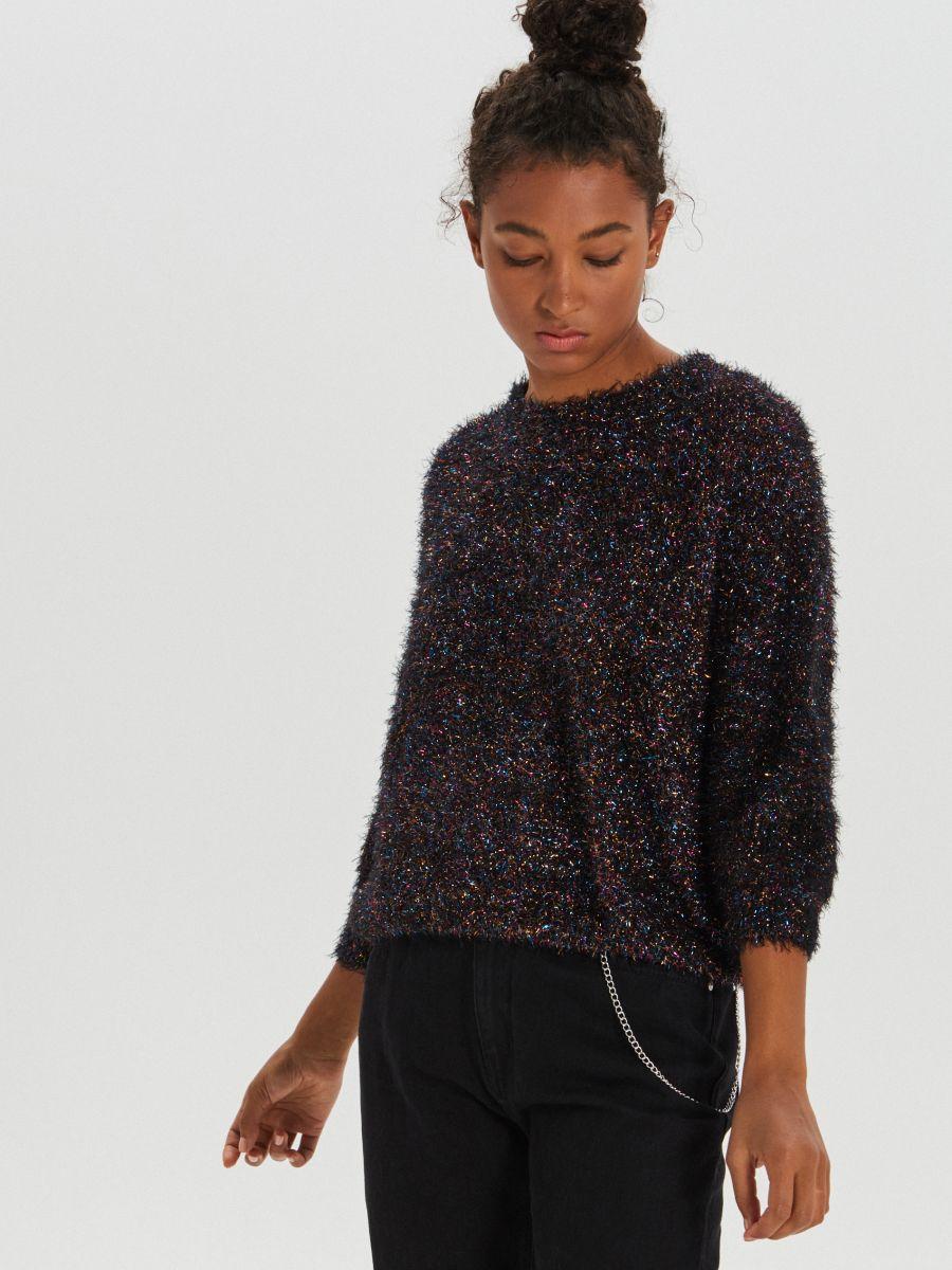 Kohev oversized-lõikega džemper - MITMEVÄRVILINE - WM673-MLC - Cropp - 2