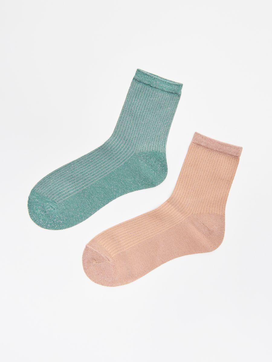 2 paari sokke - KOORENE - WX963-02M - Cropp - 1