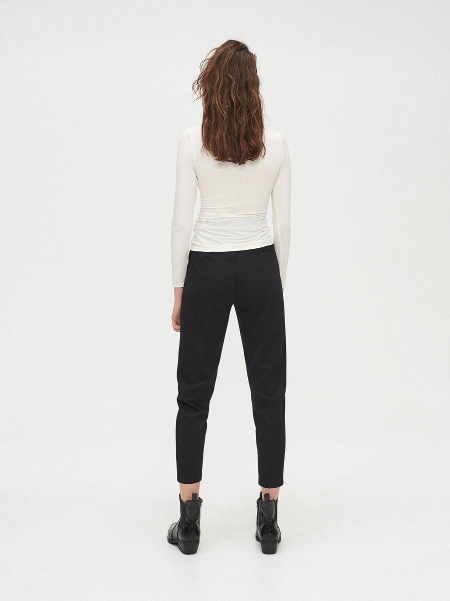 Viskoosisegust kõrge kraega džemper basic - KOORENE - XV968-01X - Cropp - 4