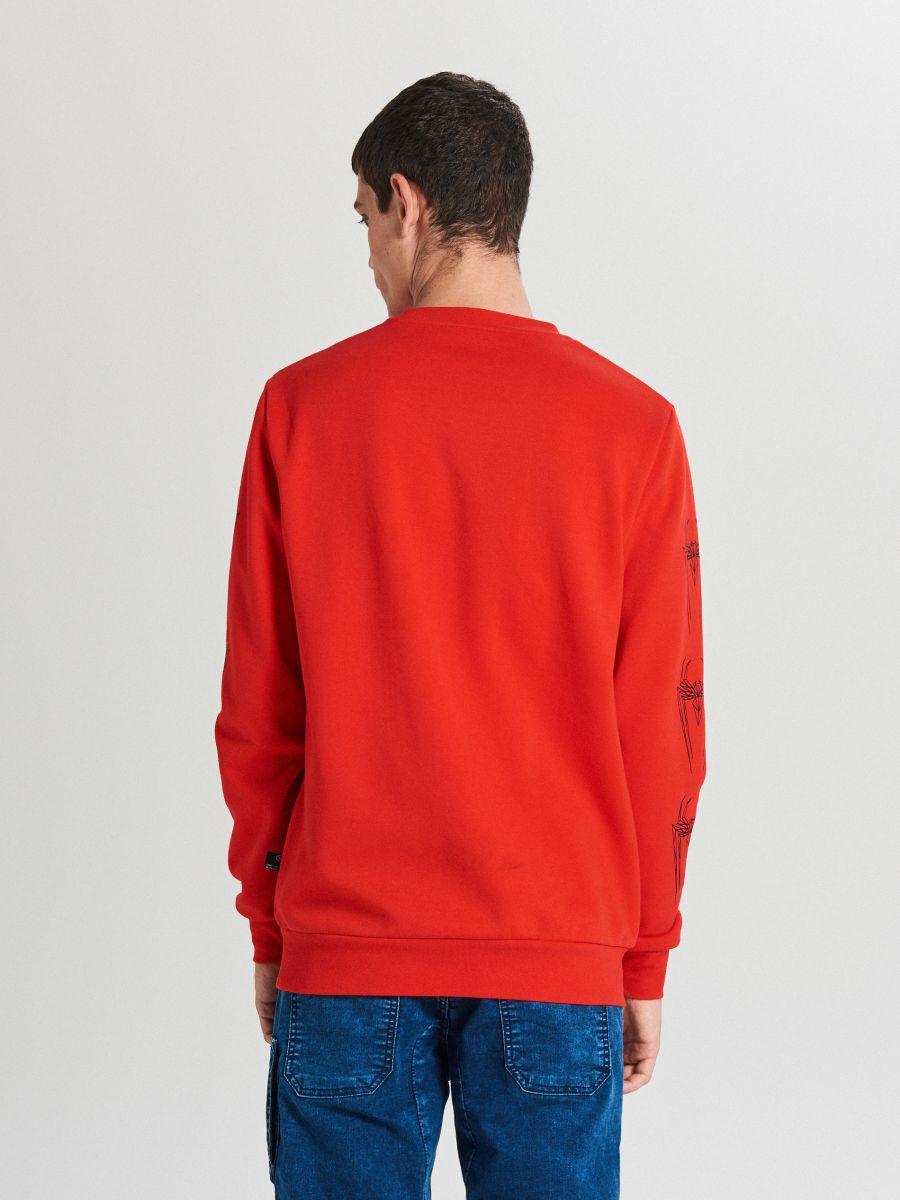 Muška majica - CRVENA - WX639-33X - Cropp - 4