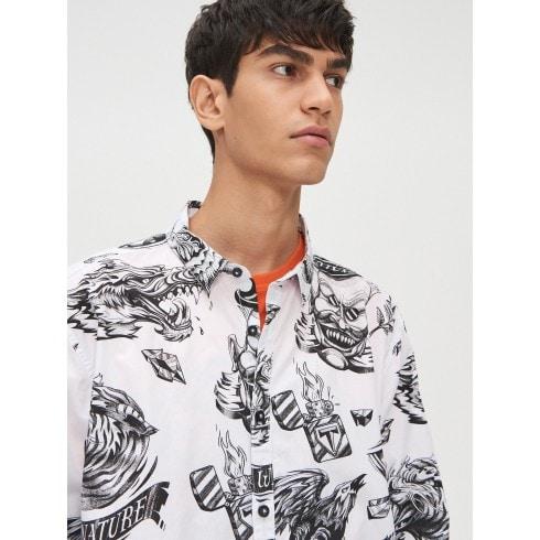 Košulja iz kolekcije Ink Ready