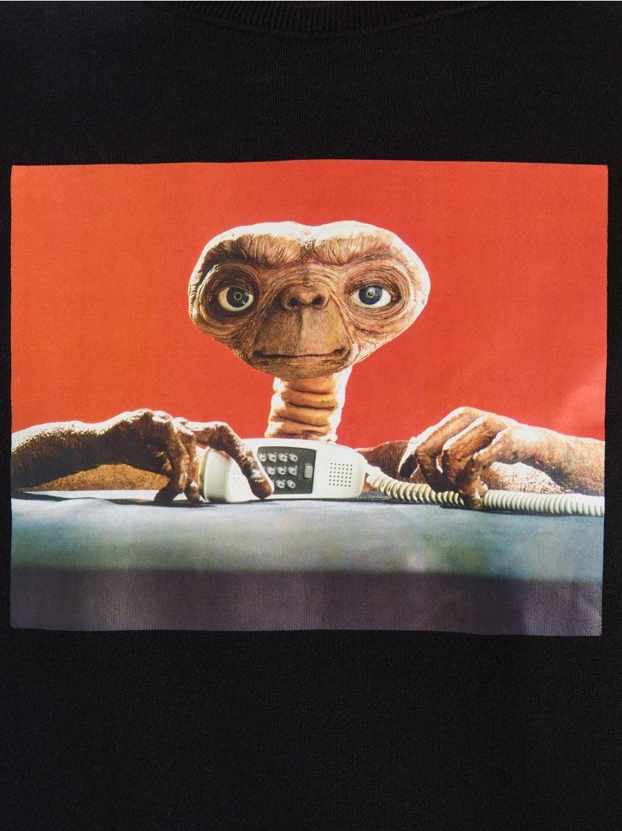 Світшот E.T. - БАГАТОБАРВНИЙ - WM645-MLC - Cropp - 3
