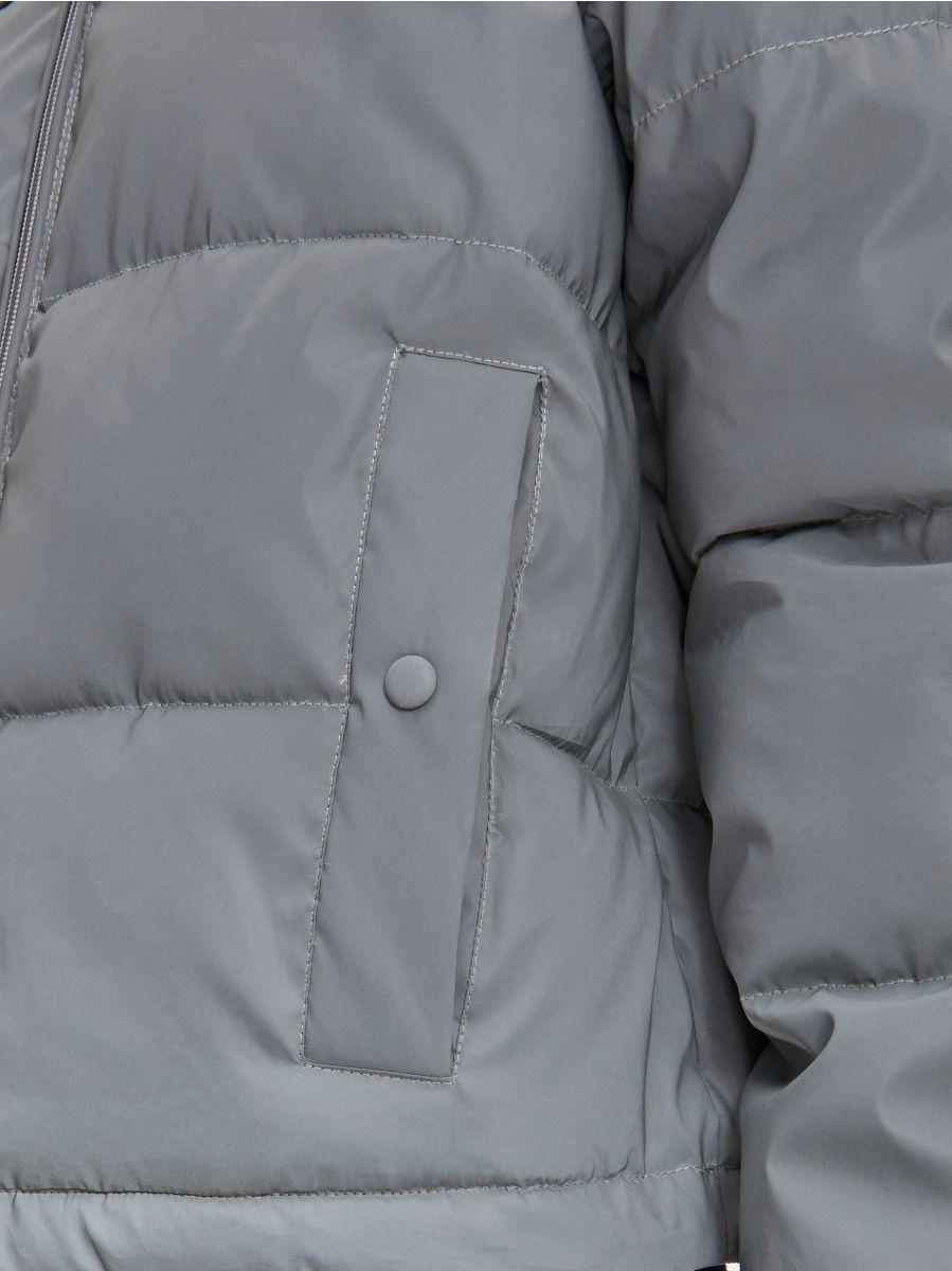 Дута куртка - СІРИЙ - XL604-90X - Cropp - 5