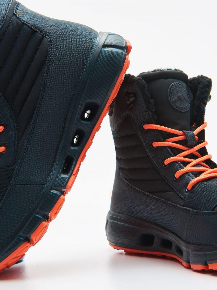 Утеплені черевики - ЧОРНИЙ - XB809-99X - Cropp - 2