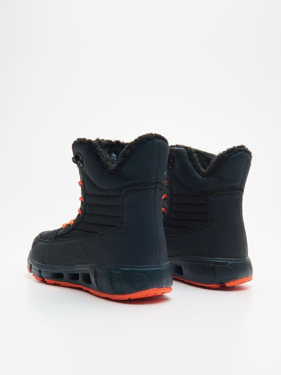 Утеплені черевики - ЧОРНИЙ - XB809-99X - Cropp - 4