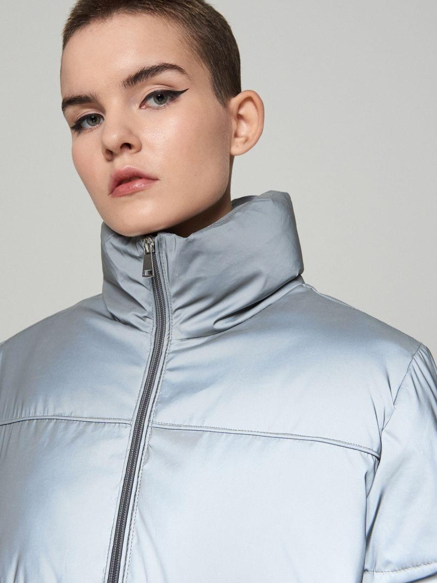 Дута куртка - СІРИЙ - XL604-90X - Cropp - 3