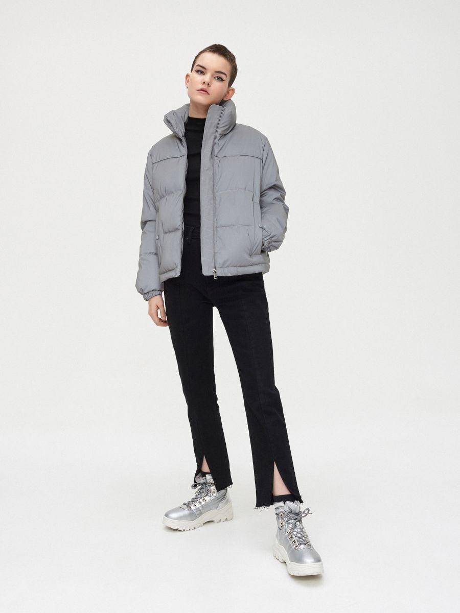 Дута куртка - СІРИЙ - XL604-90X - Cropp - 6