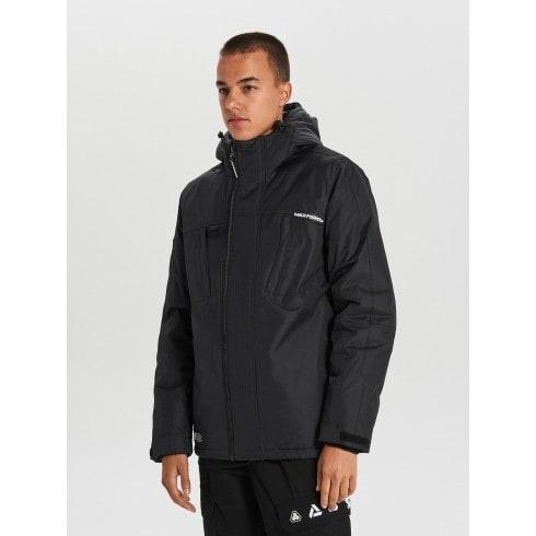 Тепла куртка з каптуром
