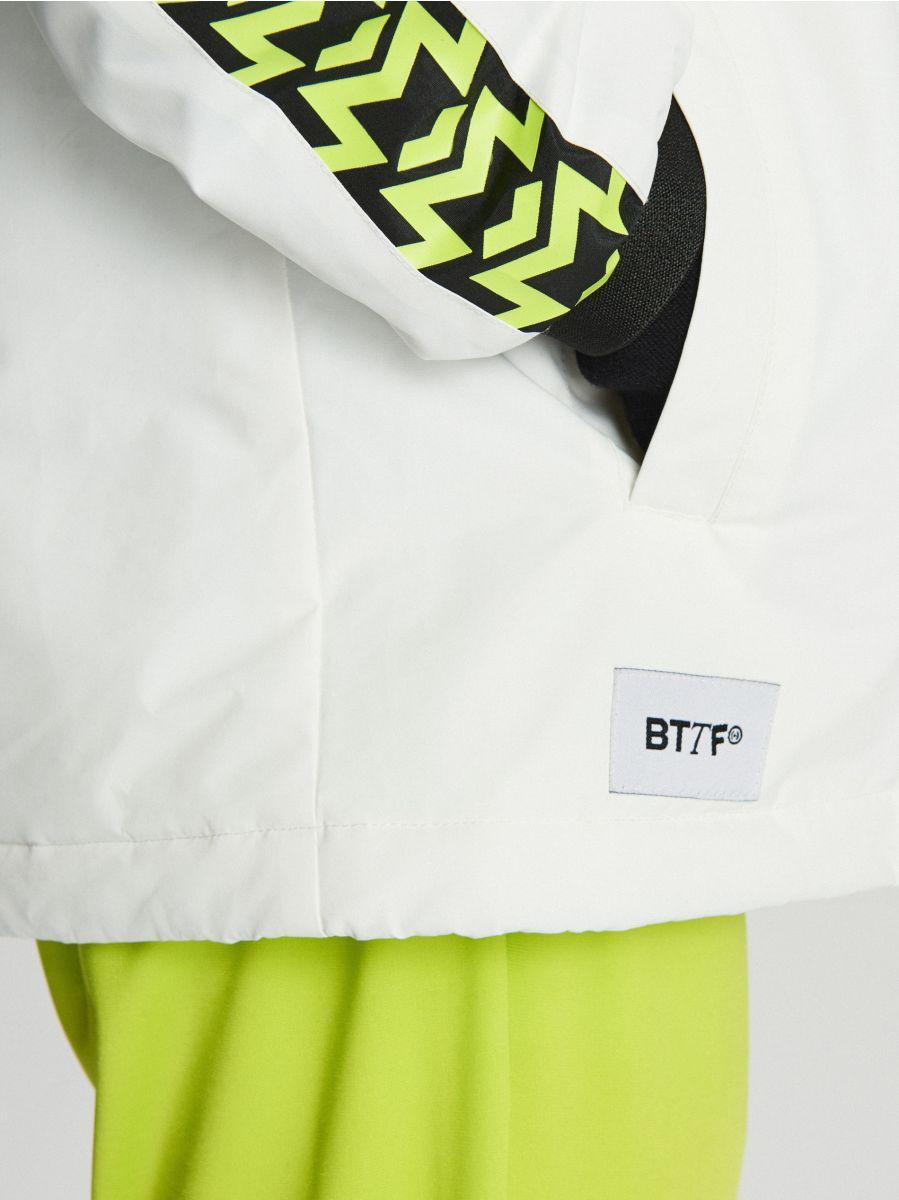 Легка куртка з каптуром - белый - VB079-00X - Cropp - 5