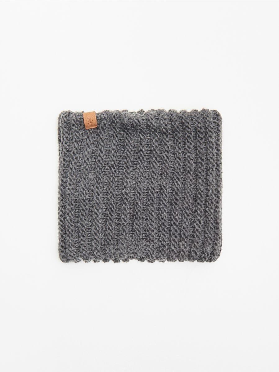 Шарф - серый - WA010-90X - Cropp - 1