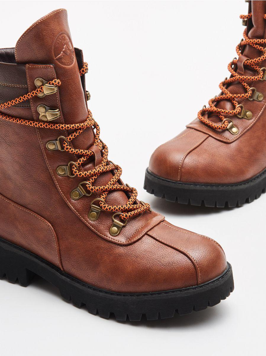 Треккинговые ботинки  - коричневый - WE899-88X - Cropp - 2