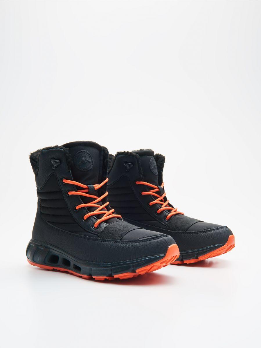 Утепленные ботинки - черный - XB809-99X - Cropp - 3