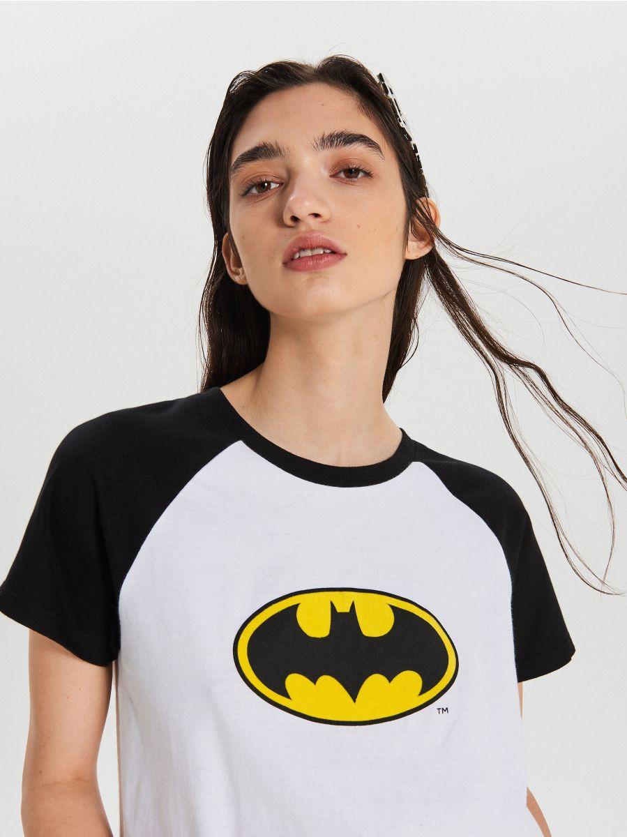 Футболка Batman - белый - XC518-00X - Cropp - 1