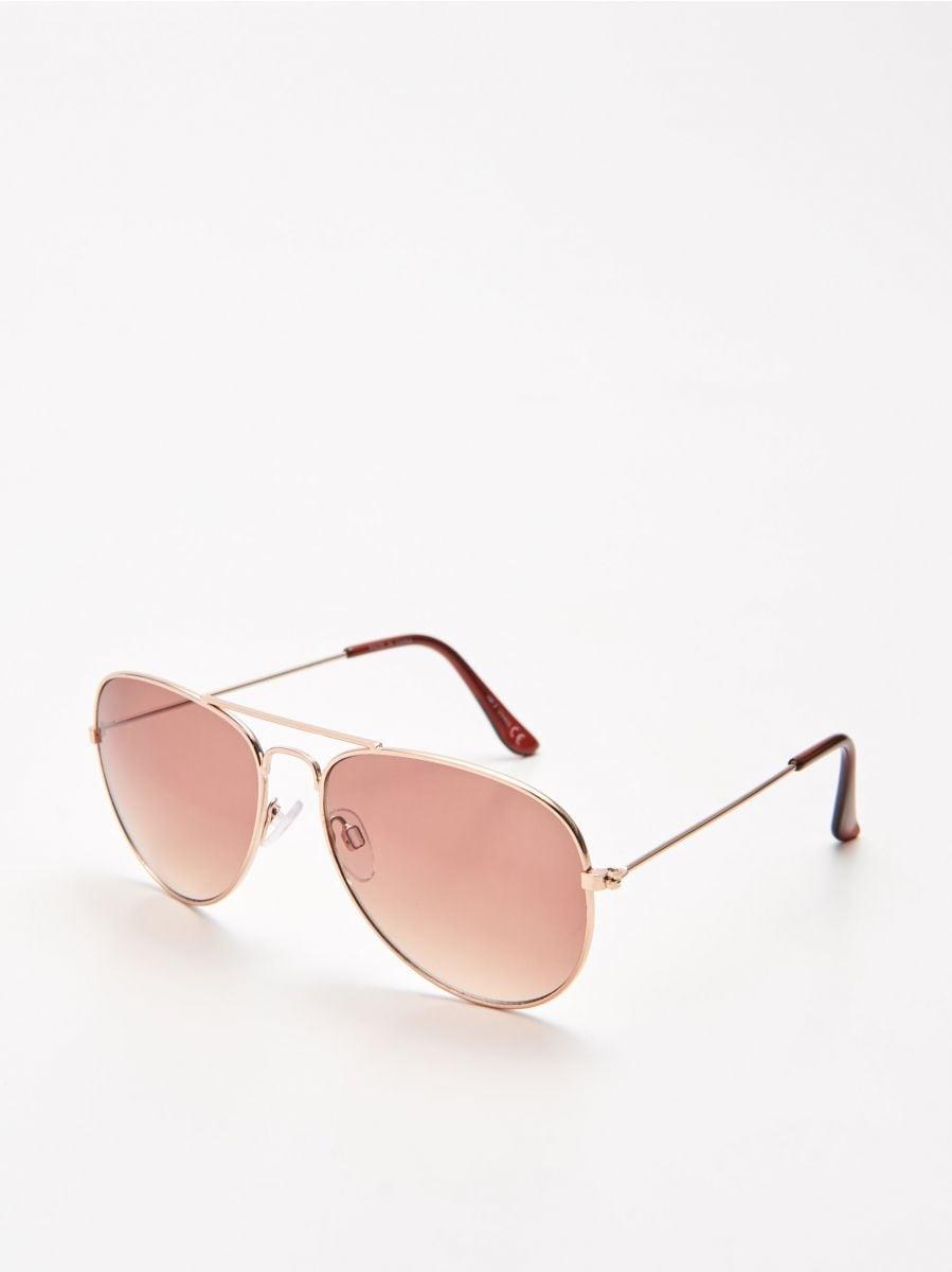 Очки-авиаторы - коричневый - XX450-88X - Cropp - 1