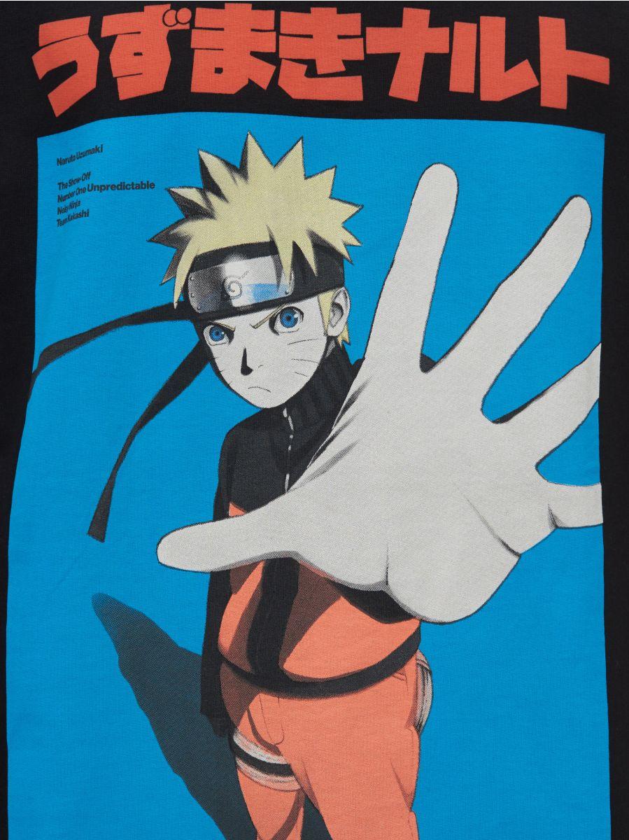 Черный лонгслив Naruto - черный - YG158-99X - Cropp - 5