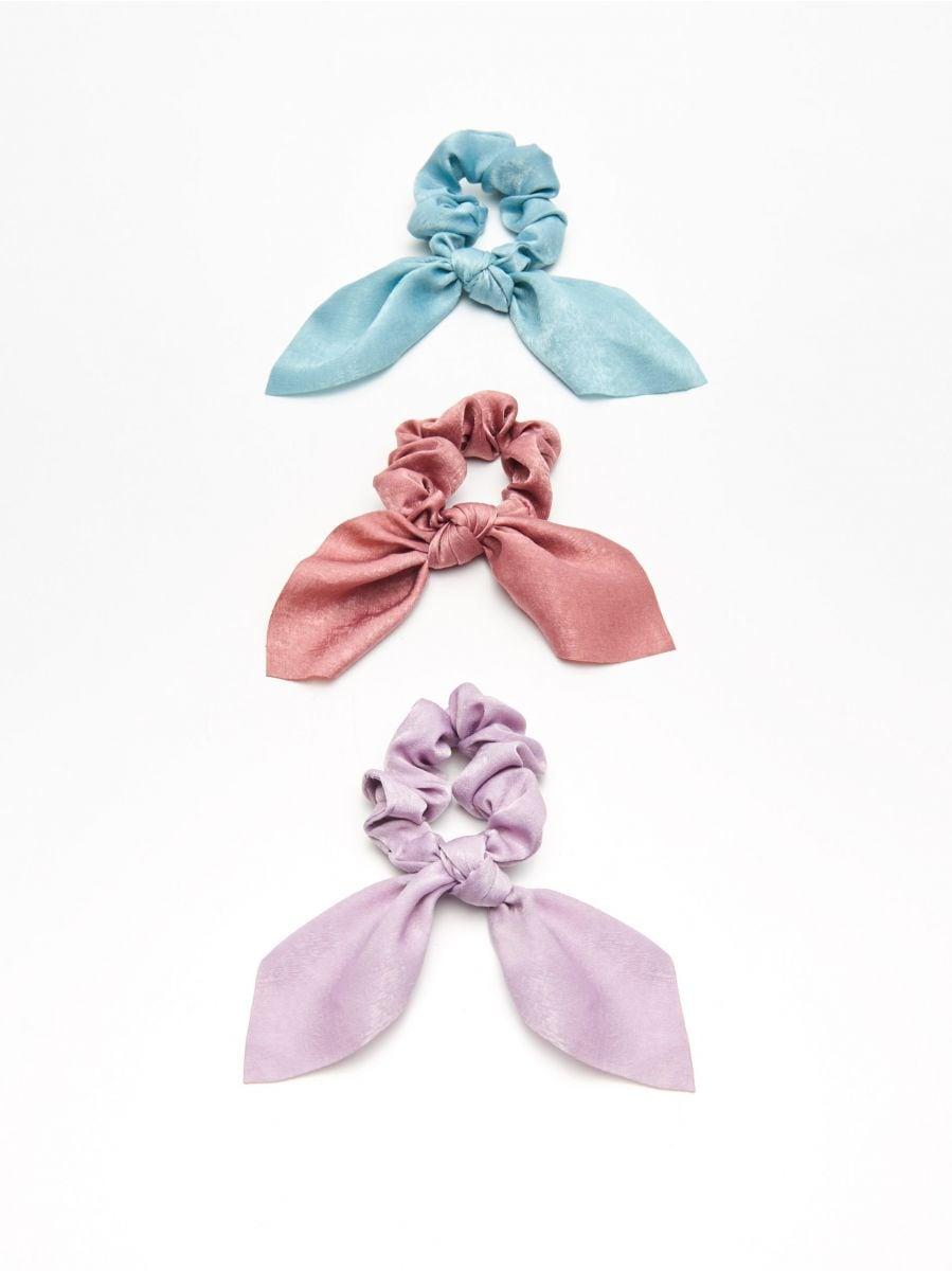 Набор резинок для волос - фиолетовый - YV824-04X - Cropp - 1