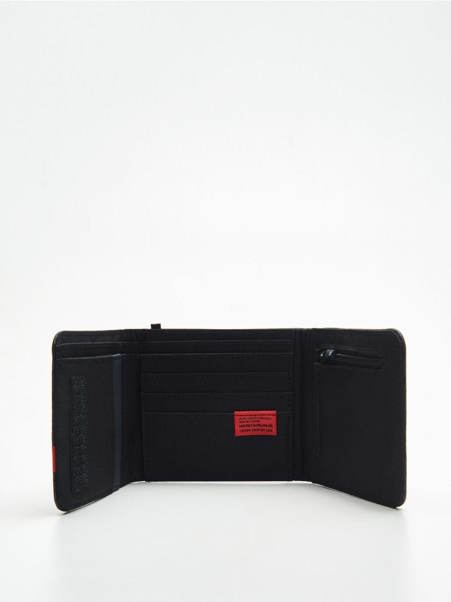 Большой кошелек - темно-синий - ZI155-59X - Cropp - 2