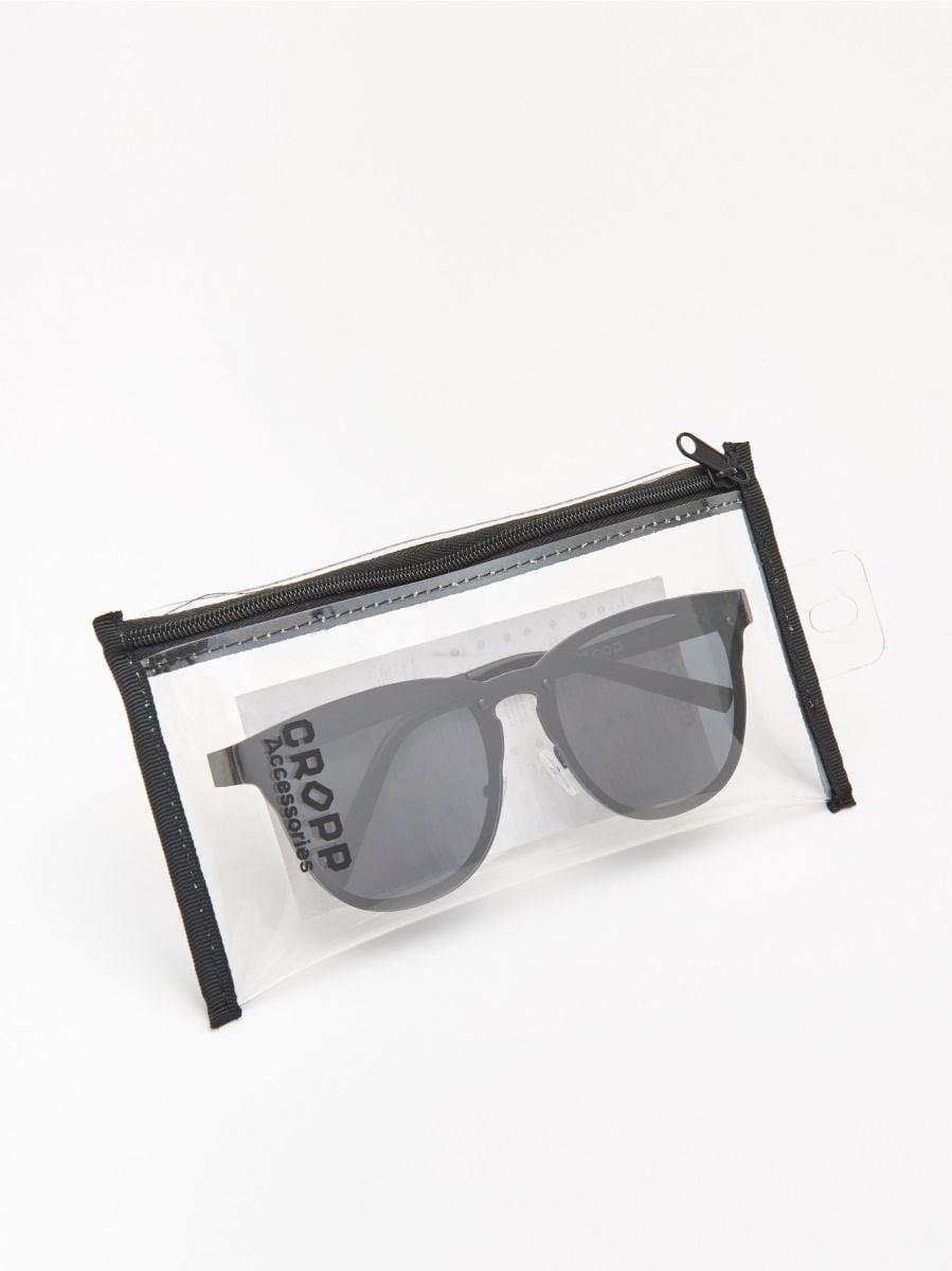 Солнцезащитные очки - черный - ZL566-99X - Cropp - 3