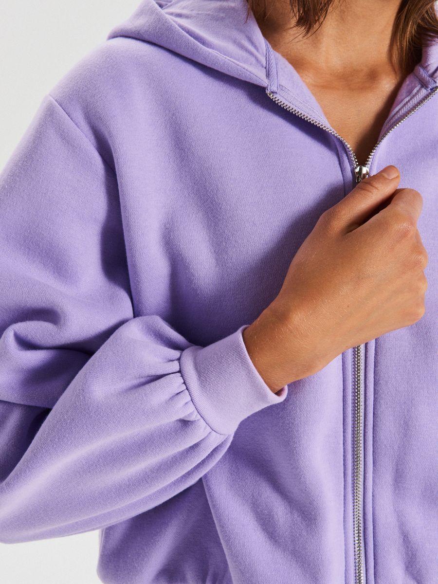 LADIES` JOGGING TOP - фиолетовый - WE223-04X - Cropp - 4