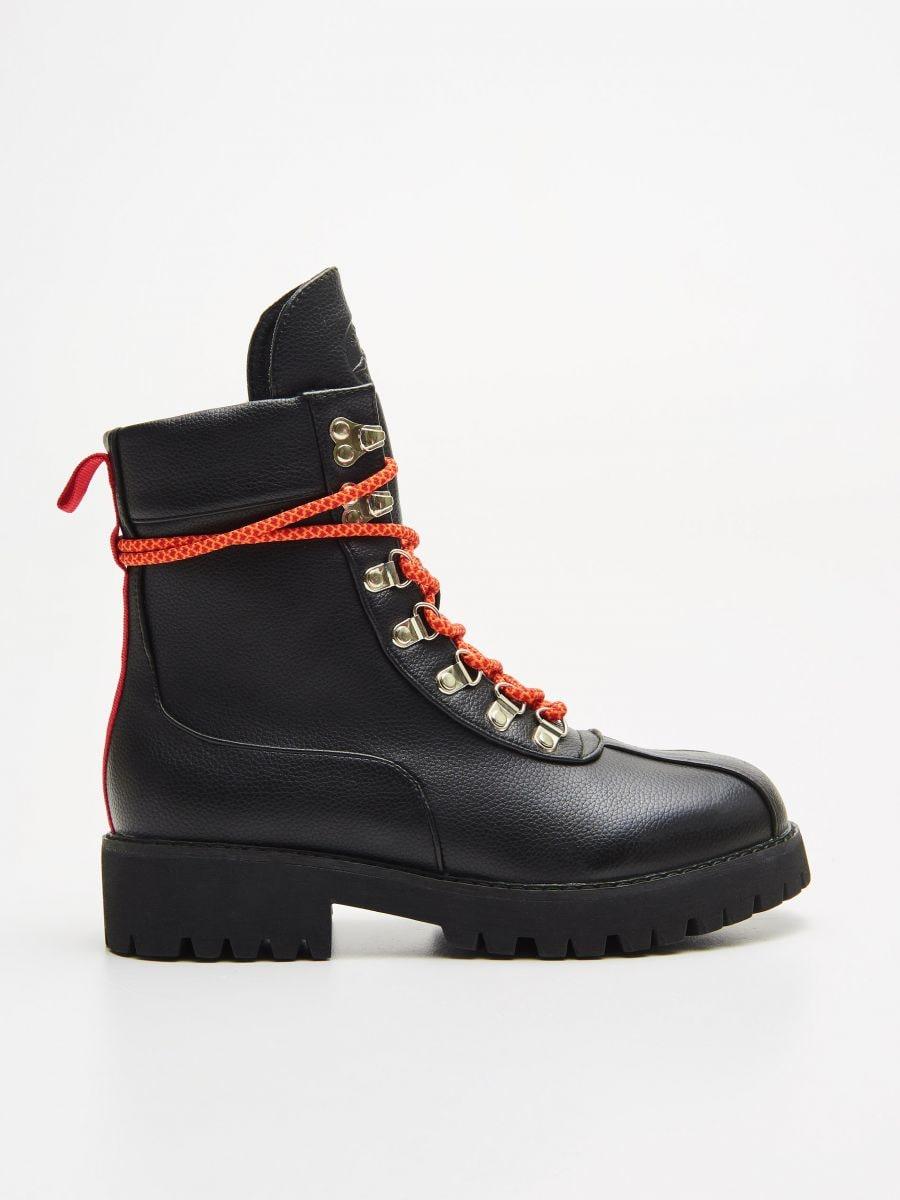 Треккинговые ботинки  - CZARNY - WE899-99X - Cropp - 1