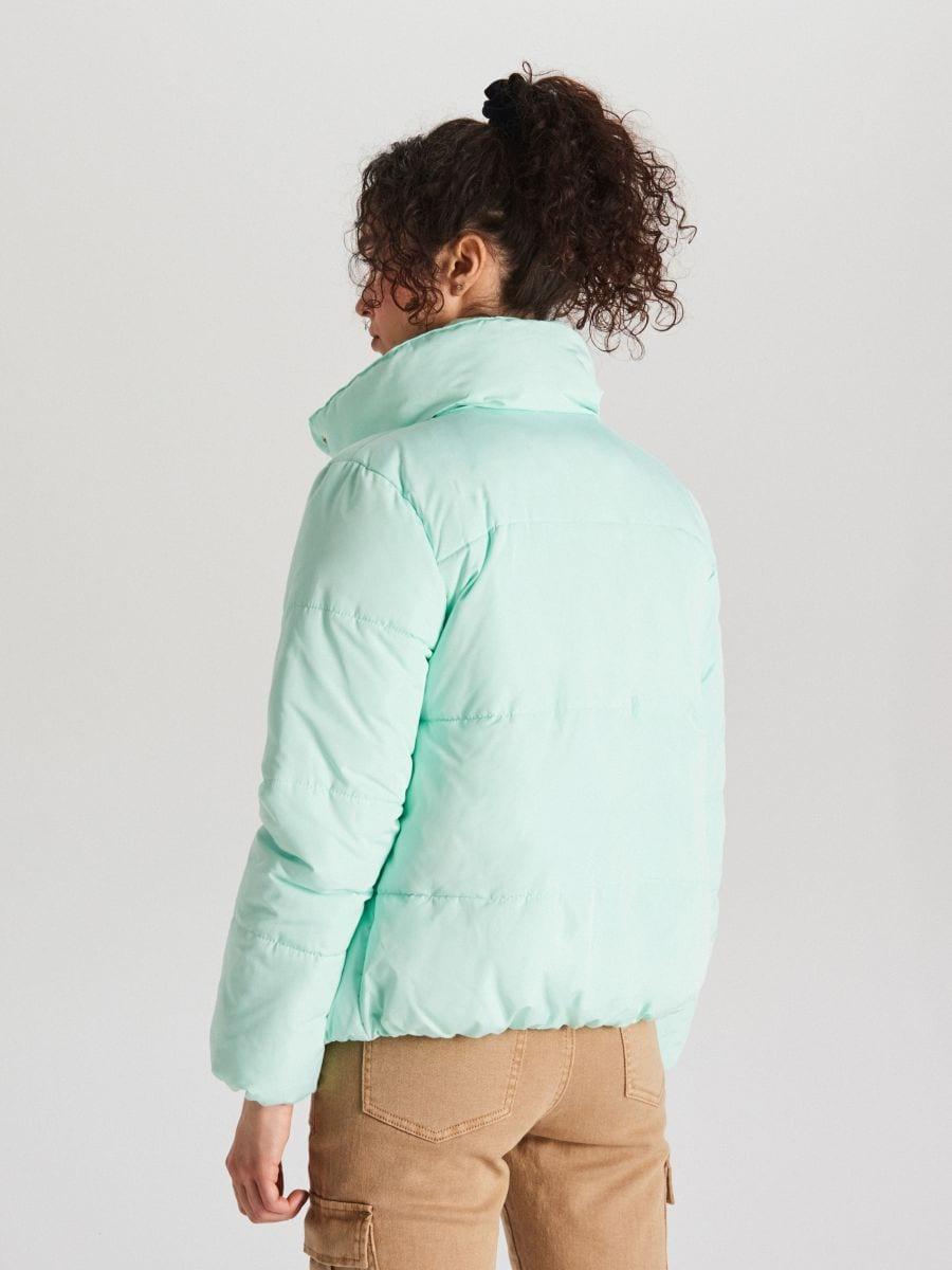 Стеганая куртка с воротником - NIEBIESKI - WG280-05X - Cropp - 6