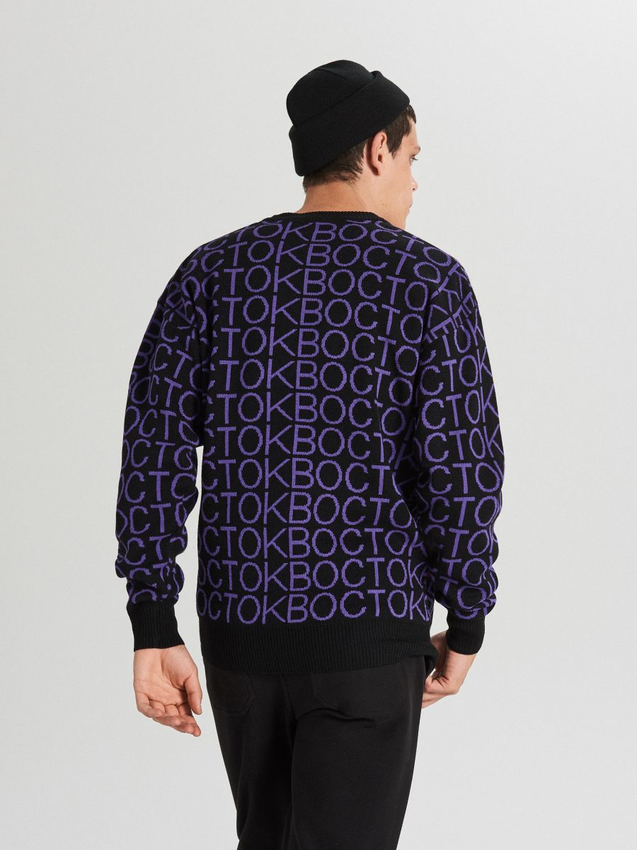 MEN`S SWEATER - VIOLET - WG353-45X - Cropp - 5