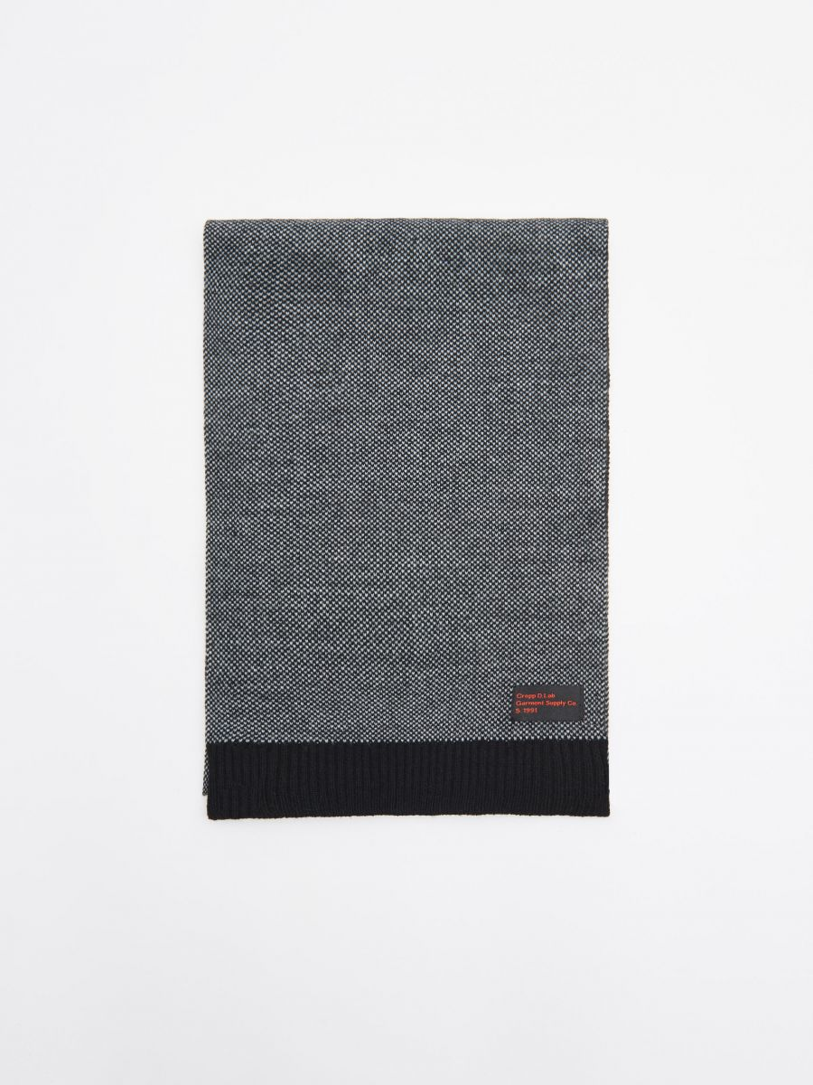Шарф - серый - WK519-90X - Cropp - 1
