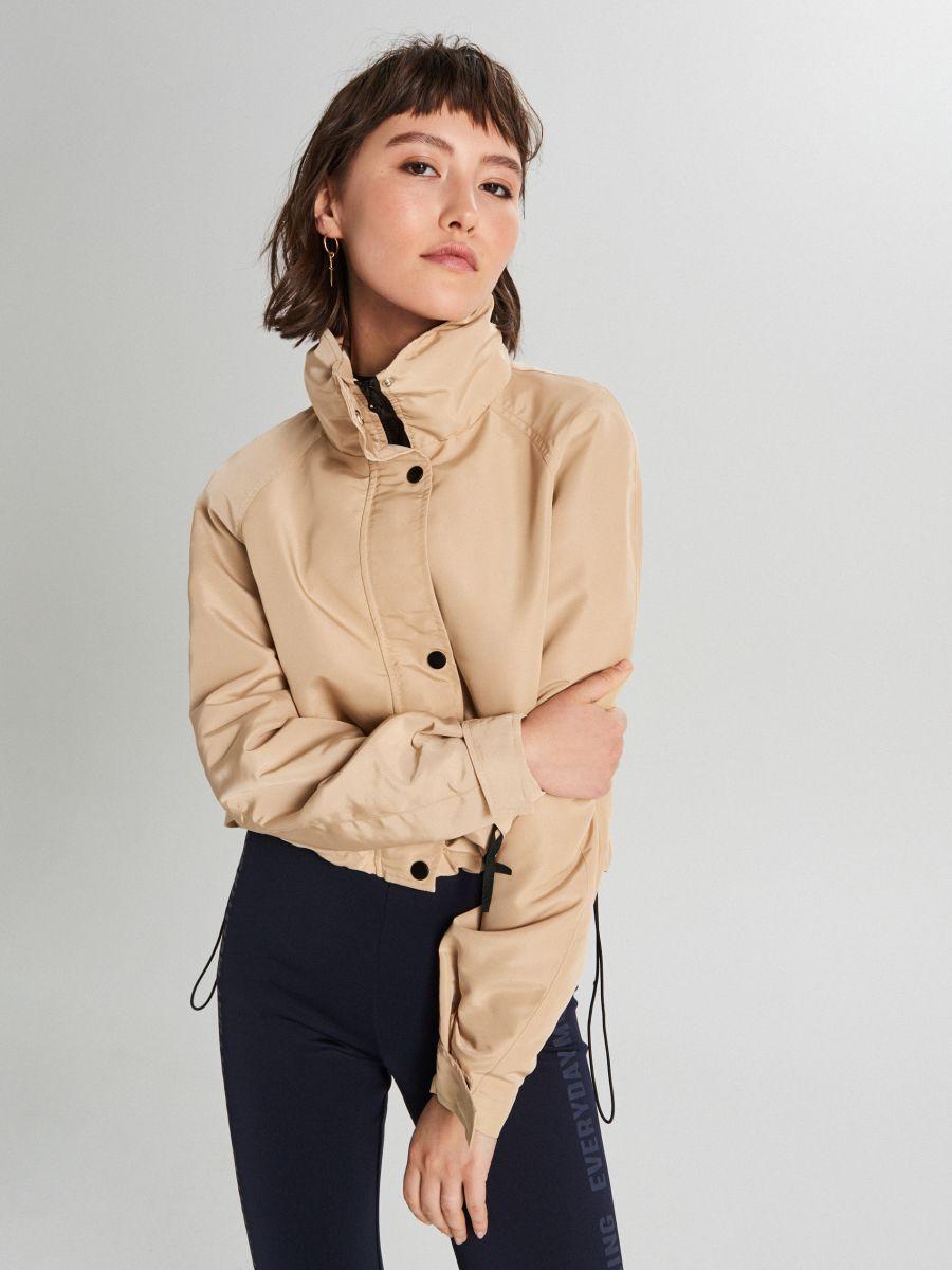Куртка с капюшоном - BÉZS - WS150-08X - Cropp - 4