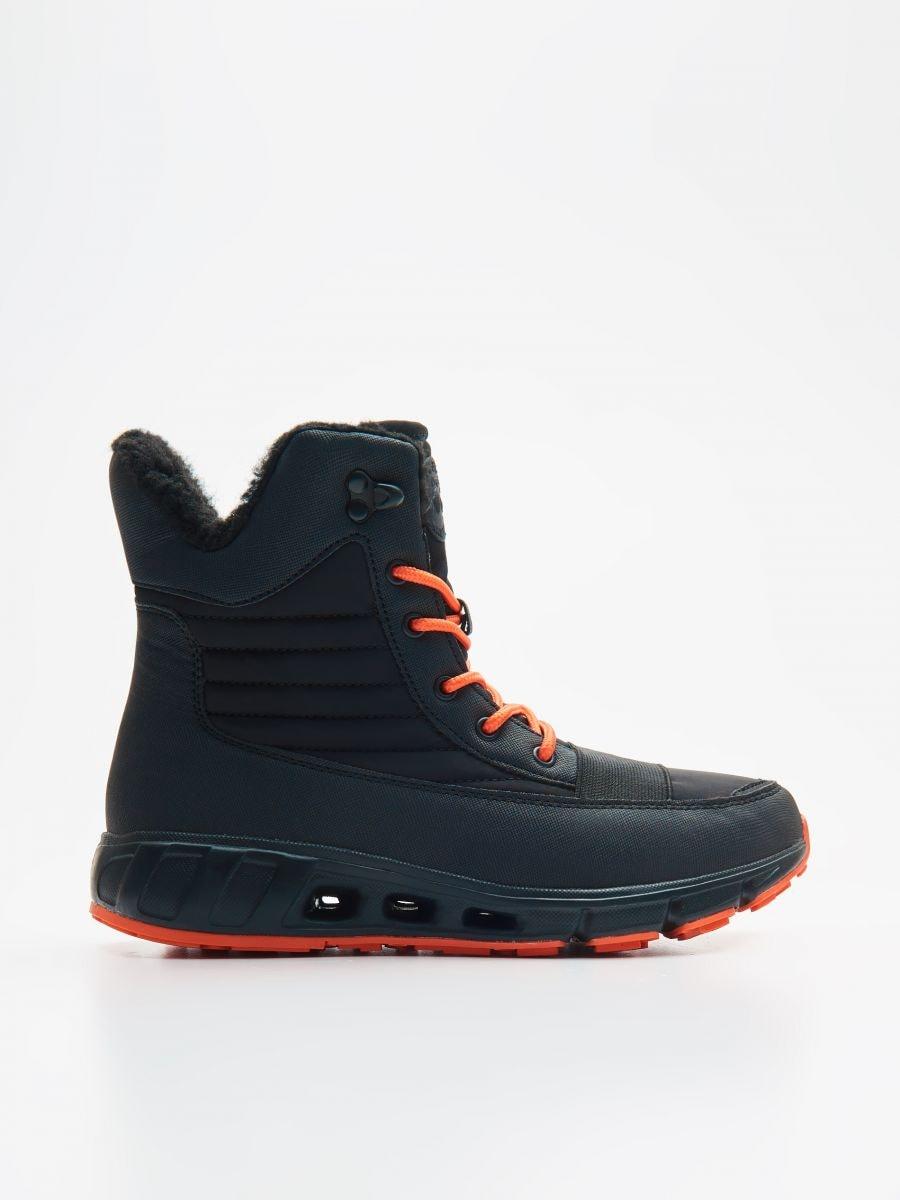 Утепленные ботинки - черный - XB809-99X - Cropp - 1