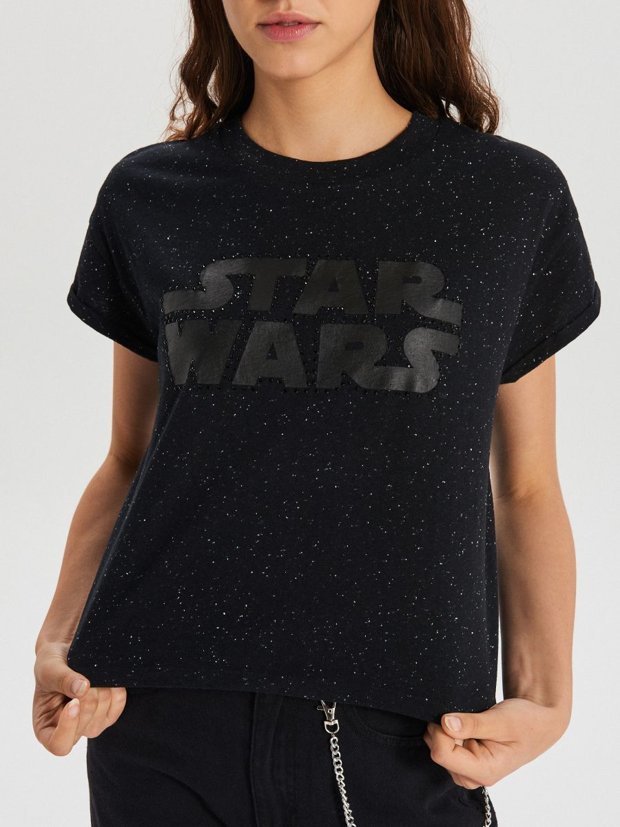 Футболка Star Wars - CZARNY - XC517-99X - Cropp - 3