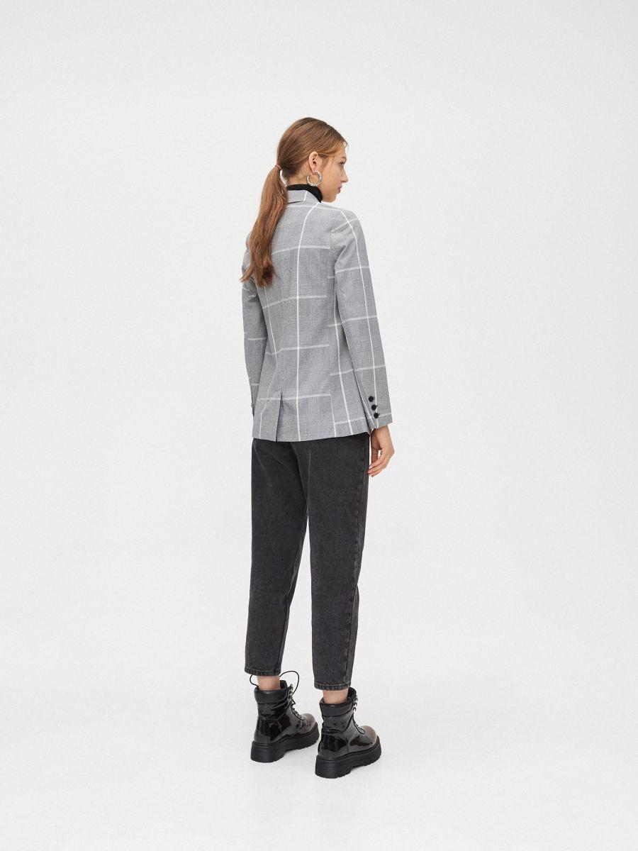 Однобортный пиджак - серый - XL578-90X - Cropp - 5