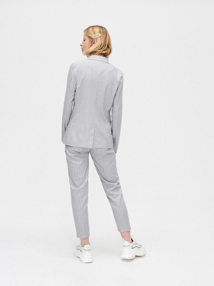 Двубортный пиджак - светло-серый - XL583-09X - Cropp - 4