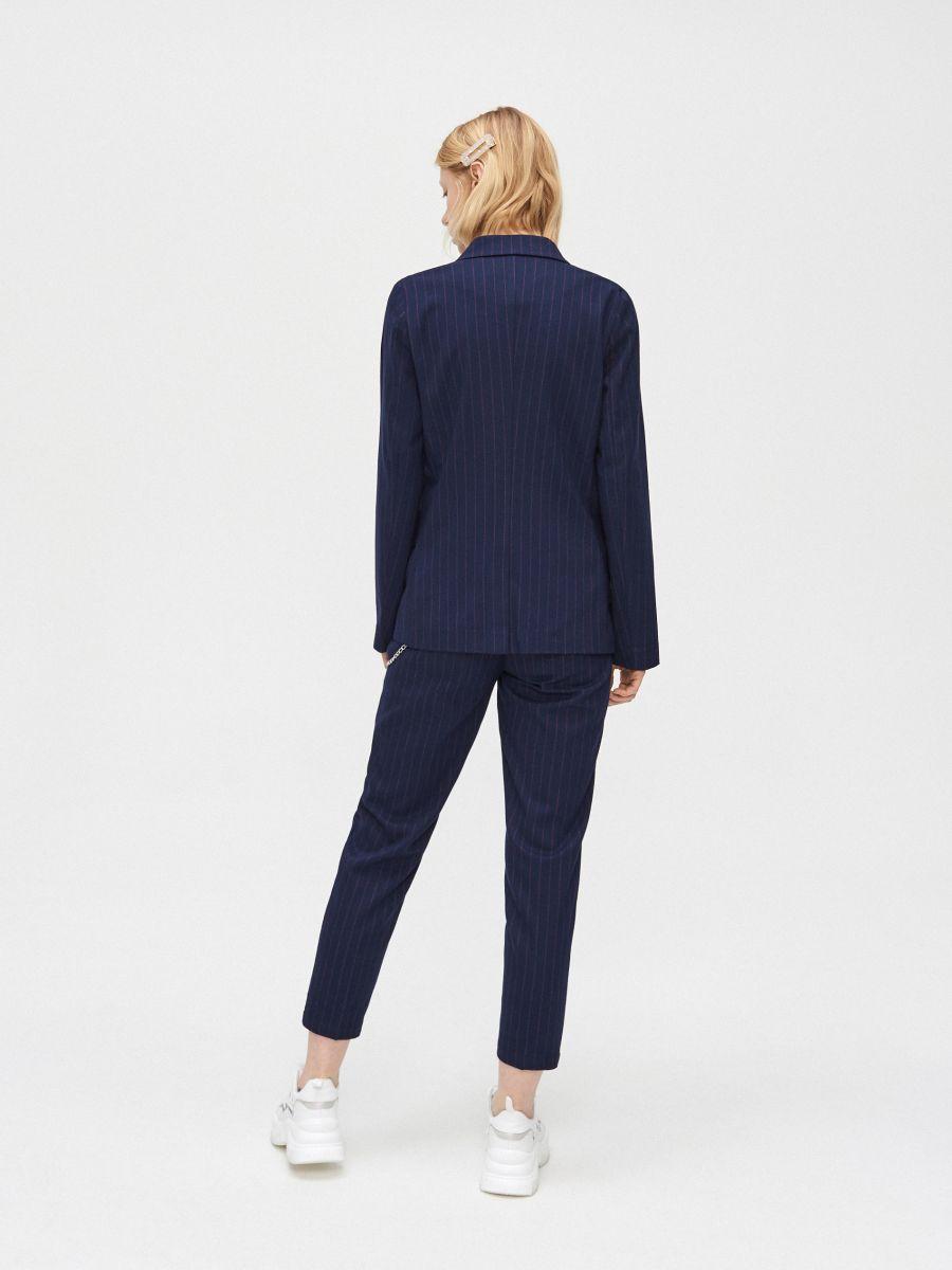 Двубортный пиджак - темно-синий - XL583-59X - Cropp - 4