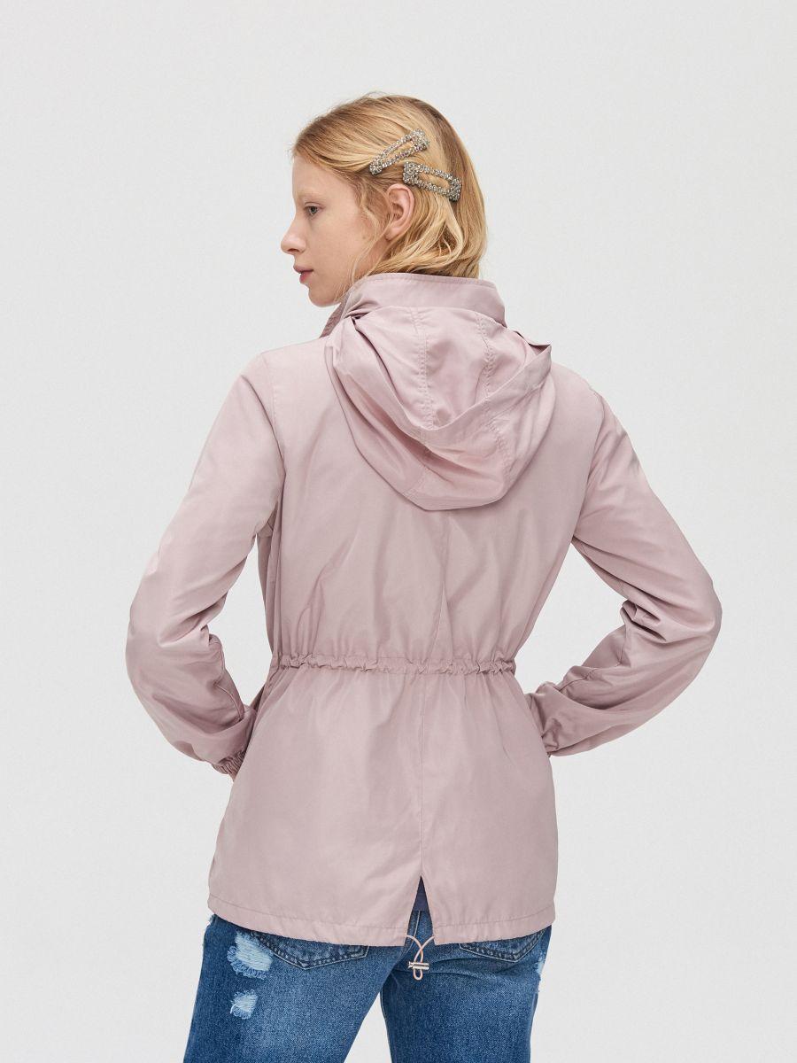 Легкая куртка-дождевик - розовый - XL598-39X - Cropp - 6