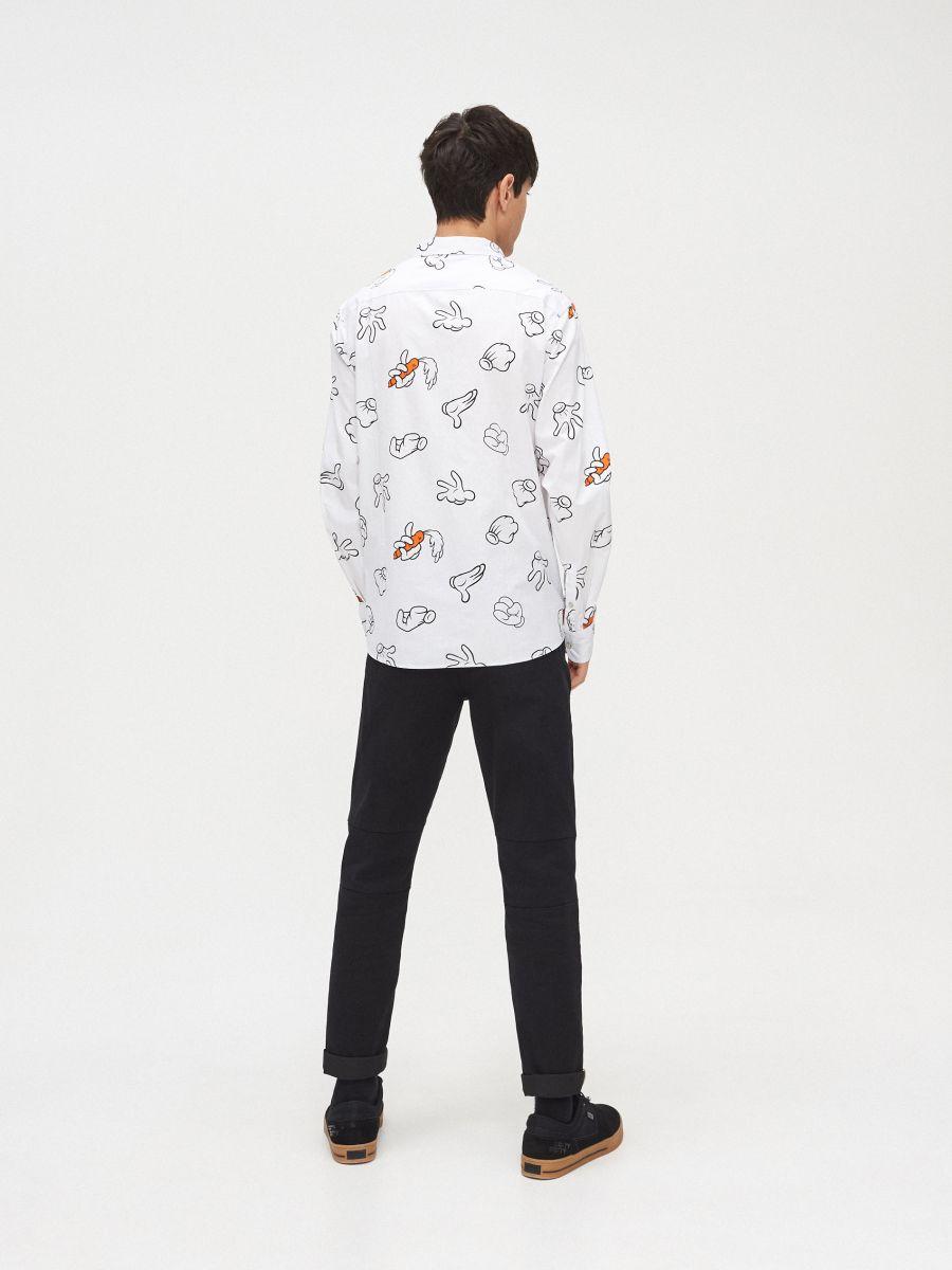 Рубашка с коротким рукавом Looney Tunes - белый - XR117-00X - Cropp - 5