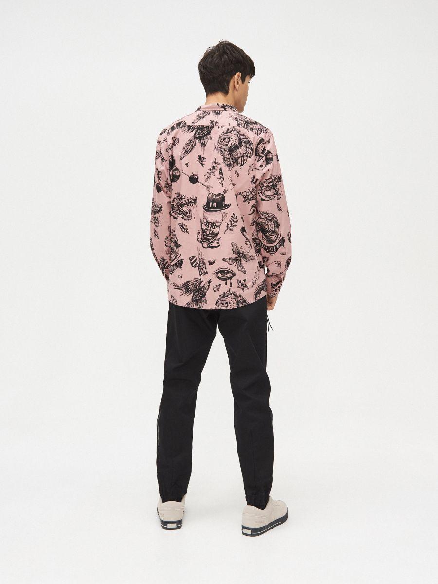 Рубашка Ink Ready - розовый - XR123-39X - Cropp - 4