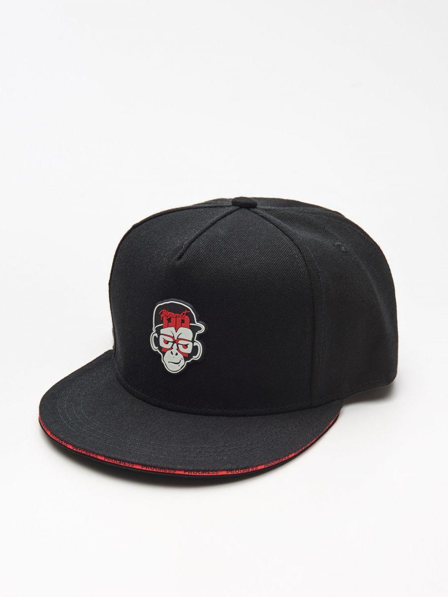 Бейсболка с надписью  - красный - XW664-33X - Cropp - 1